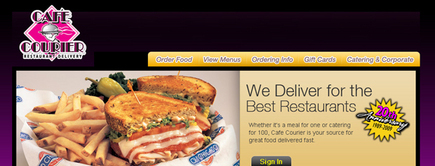 Web developer portfolio: Online catering web development