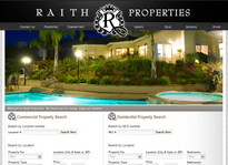 Web developer portfolio: Raith Properties
