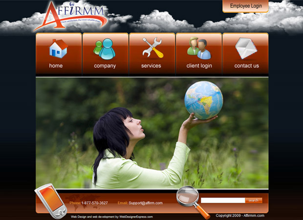Environment Web Design And Development