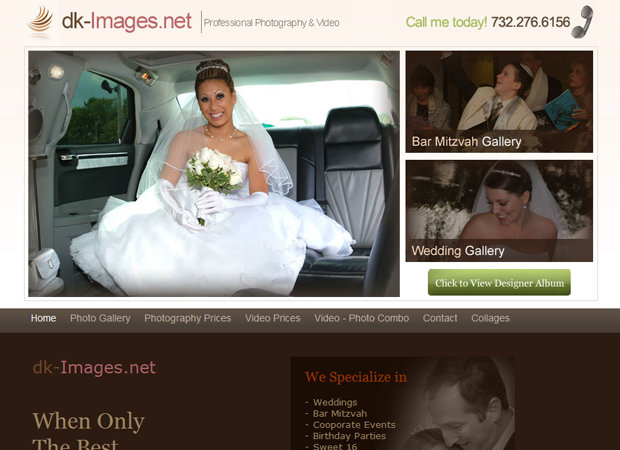 Photography Web Design And Development Photographer Web Design