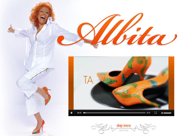 Albita Website Development - The Wellknown Abita's Website, A True Honor To Work With!