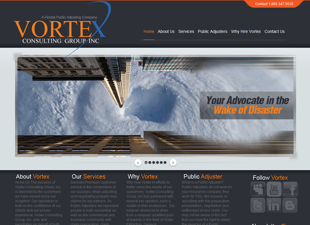 Public Adjusters Web Design - Public Adjusters Web Development - Claims Adjusters Web Design