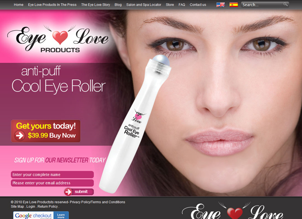 Women Products Web Development - Beauty Products Online Store