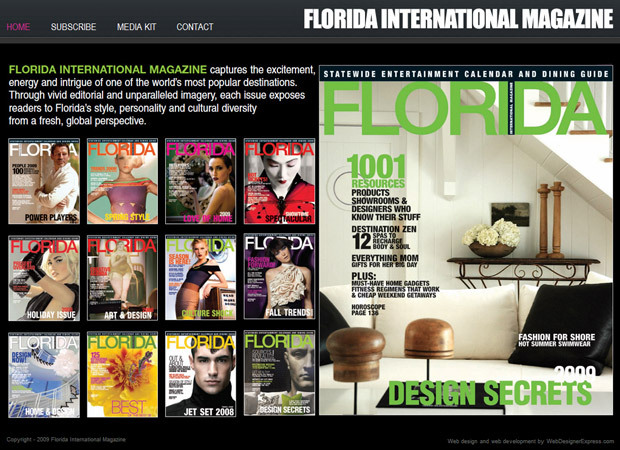 Magazine Web Development And Magazine Online Advertising