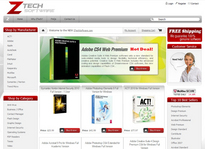 Web developer portfolio: Z-Tech Software