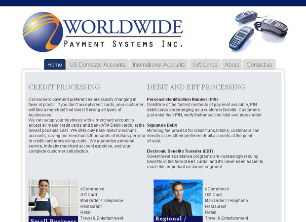 Merchant Account Web Development - Merchant Web Development - Merchant Web Design - Ecommerce Merchant Web Development