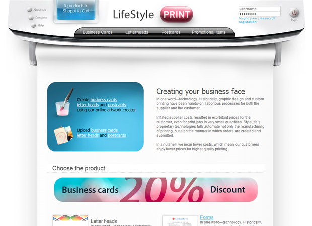 Printing Web Design And Web Development