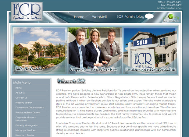 Real Estate Web Design And Web Development
